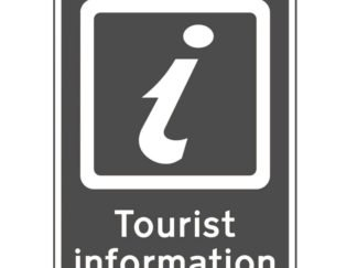 button to access Visitor Information Centre