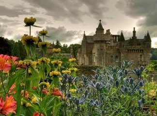 Abbotsford the Home of Sir Walter Scott Admission Ticket
