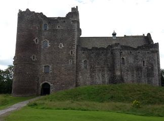 Day Trip to Doune Castle the Trossachs and Loch Lomond in a Private Minibus from Glasgow