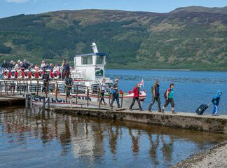 Luss Day Trip with Return Cruise on Loch Lomond from Tarbet or Rowerdennan
