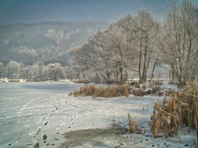 winter breaks in the trossachs