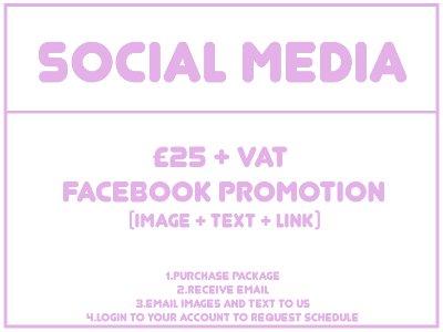SOCIAL MEDIA PROMOTION - FACEBOOK