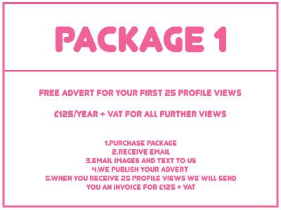 PACKAGE 1 - FREE FOR FIRST 25 PROFILE VIEWS