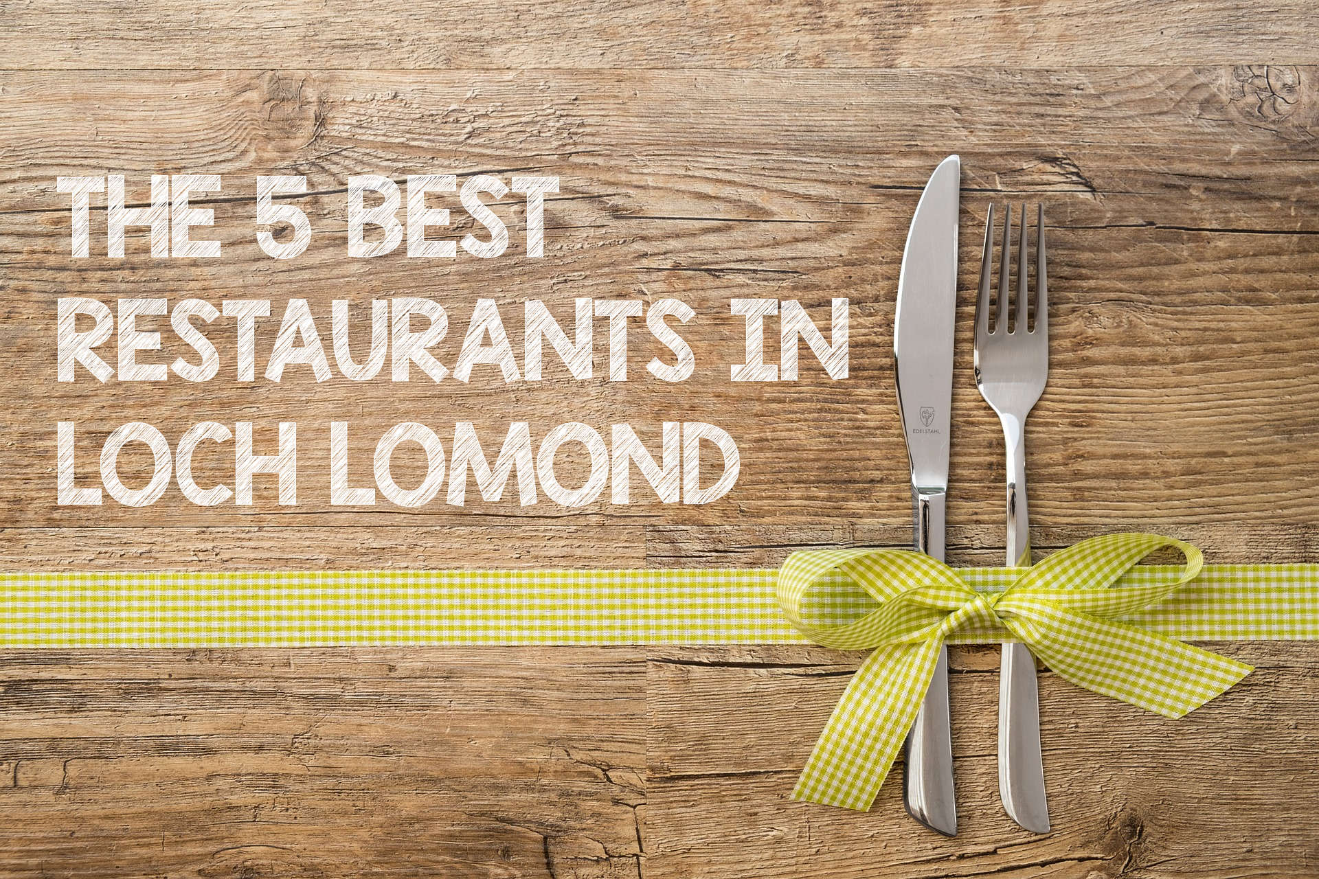 The best places to eat in loch lomond